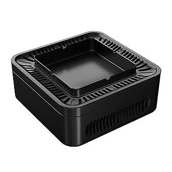 USB Rechargeable Smokeless Ashtray Secondhand Smoke Air Filter Purifier For Home Office Car