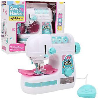 Pretend housekeeping electric mini sewing machine educational interesting pretend play housekeeping