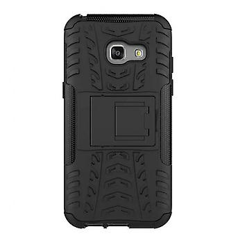 Armor Heavy Duty Hybrid Phone Case For Samsung Galaxy A5 2017 Shockproof Stand Cover