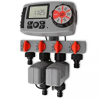 Chunhelife Automatic Irrigation Timer With 4 Stations 3 V