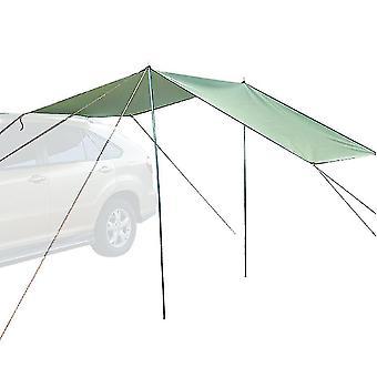 Auvent de voiture Pare-soleil imperméable à l'eau et coupe-vent tente de camping portable de 5 à 6 personnes pour divers