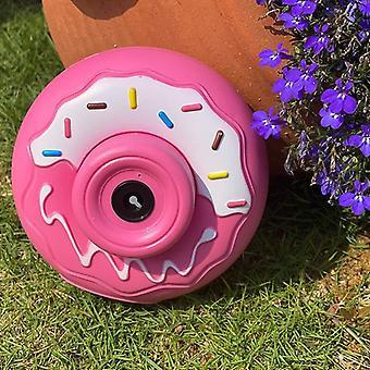 Lasten sähköinen donitsikameran kuplakone