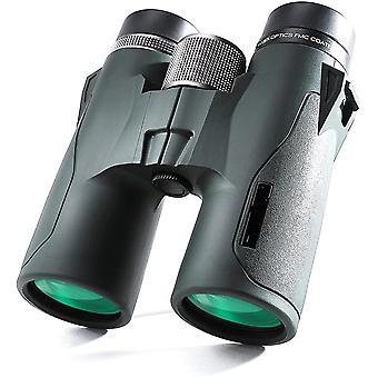 10x42 HD Kompaktes Dachprisma Fernglas, wasserdicht, Anti-Beschlag und stoßfest, geeignet für Vogel