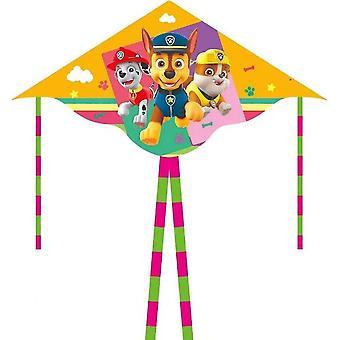 Dibujos animados para niños cometa de cola doble de cola larga (Color4)
