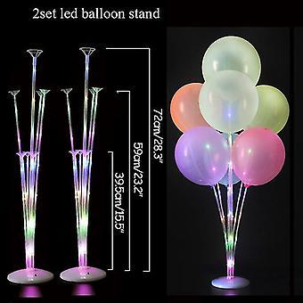 Baloon Stick & Balloon Stand Holder Column Baloons - Birthday Party Supplies
