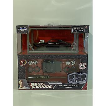 Fast and Furious Doms Dodge Charger R/T Build n Collect Jada 31288