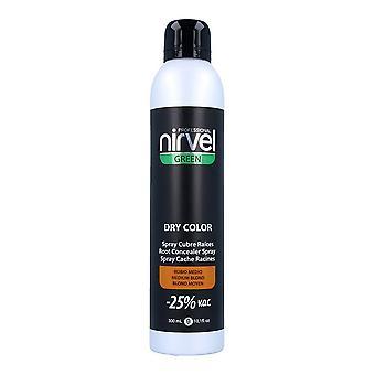 Grå hår spray grön torr färg Nirvel Medium Blondin (300 ml)