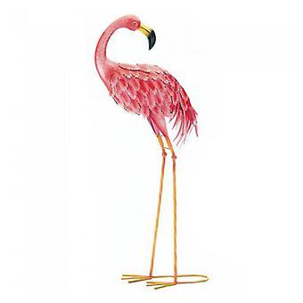 Summerfield Terrace Bright Flamingo Yard Art - Looking Back, Pack of 1