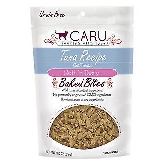 Caru Pet Food Soft 'n Tasty Baked Bites Tuna Recipe Grain-Free Cat Treats - 3 oz