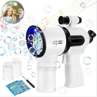 Bubble Maker Simulation Sound Spielzeug Ma Gic Bubble Blower Automatische Maschine| Blasen (Schwarz)