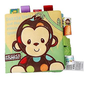 Infant Quiet Book For Baby Soft Cloth Reading Puzzle Toys