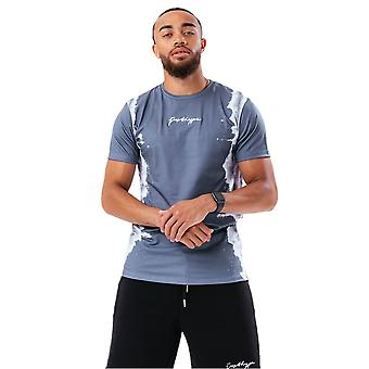 Hype Heren Dye Line T-Shirt