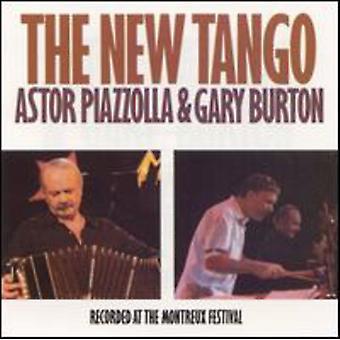 Piazzolla/Burton - New Tango [CD] USA import