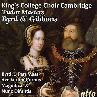 King's College Choir - Tudor Masters: Byrd & Gibbons [CD] USA import