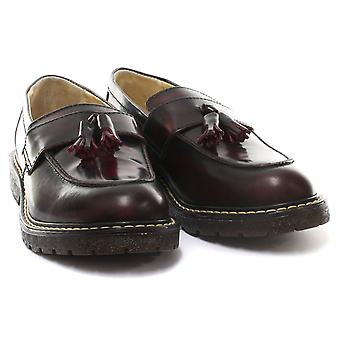 Grinders Cuthbert Mens Slip On Loafer Shoes  AND COLOURS
