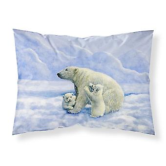 الدببة القطبية دافني باكستر النسيج القياسية وسادة