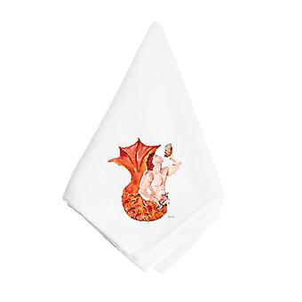 Carolines Treasures  8346NAP Merman Napkin