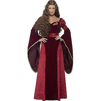 תחפושת גברות נסיכה מימי הביניים