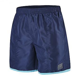 """Speedo farge blokk 16"""" svømme Shorts, Navy/turkis"""