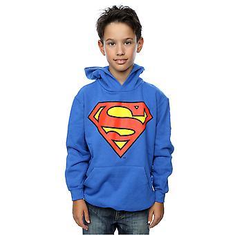 DC Comics Boys Superman Logo Hoodie