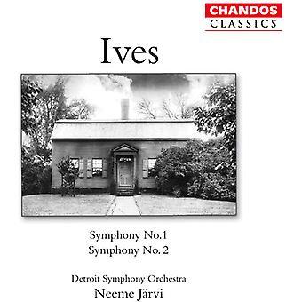 C. Ives - Ives: Symfonier nr 1 & 2 [CD] USA import