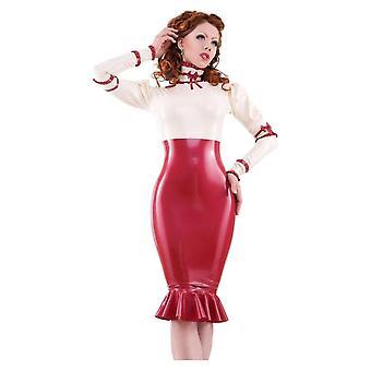 غربا ملزمة Femme De كونتيسة المطاط مطاط اللباس.