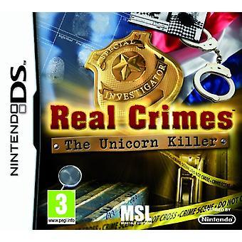 Real Crimes The Unicorn Killer (Nintendo DS) - New