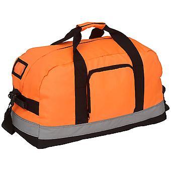 Yoko Mens Hi Vis Seattle Waterproof Safety Shoulder Strap Holdall Bag