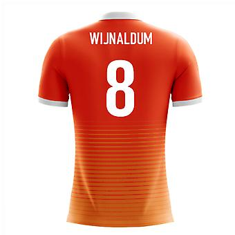 2020-2021 Holland Airo Concept Home Shirt (Wijnaldum 8)