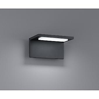 Trio Beleuchtung Trave Modern anthrazit Diecast-Aluminium Wandleuchte