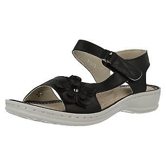 Senhoras para a terra de verão sandálias F10451