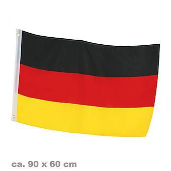Flag fan 60 x 90 cm Tyskland fodbold part