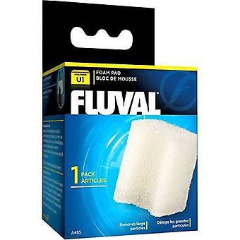 Fluval U1 Power Filter schuim invoegen