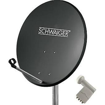 Schwaiger SPI5501SET4 SAT-Anlage Empfänger Teilnehmerzahl 4