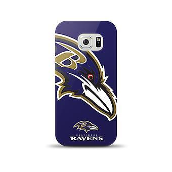 Mizco Sports NFL Oversized Snapback TPU Case for Samsung Galaxy S6 (Baltimore Ravens)