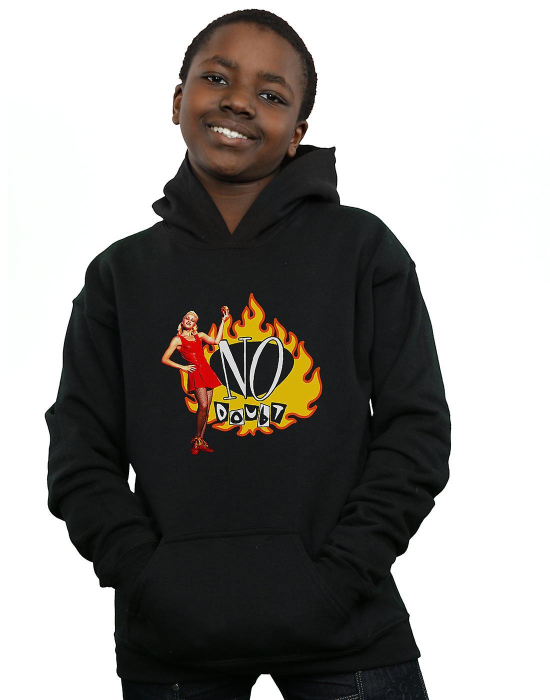 No Doubt Boys Gwen Flames Hoodie