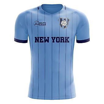 2020-2021 New York City Home Concept Football Shirt - Kids