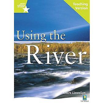 Med hjälp av floden: Lime nivå facklitteratur (Rigby stjärna guidad)