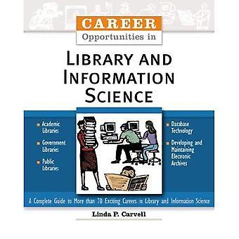 Karriärmöjligheter inom biblioteks- och informationsvetenskap