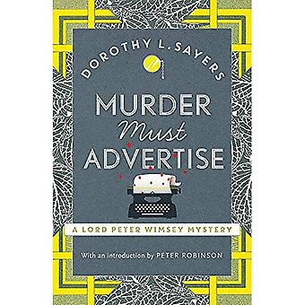 Mord muss werben: Lord Peter Wimsey Buch 10 (Lord Peter Wimsey Mysteries)