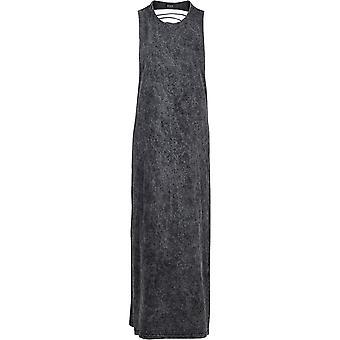 Αστικά κλασσικά γυναικεία φόρεμα τυχαία πλύσιμο πίσω κόψιμο
