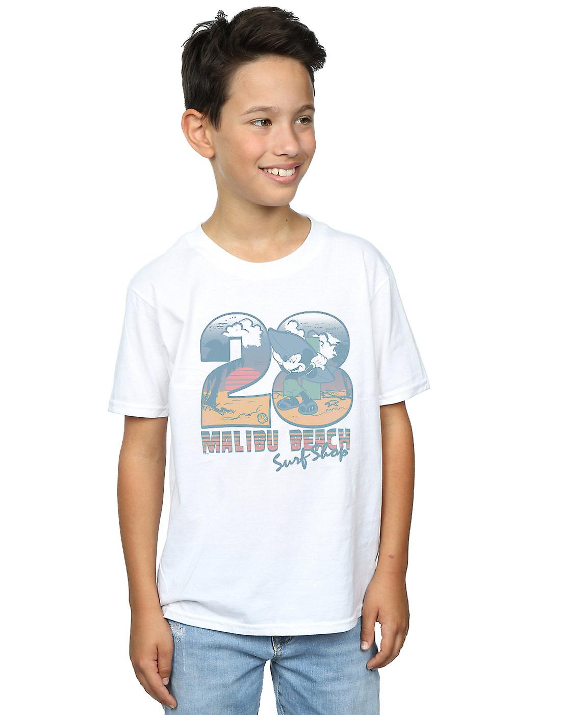 Disney Boys Mickey Mouse Surf Shop T-Shirt