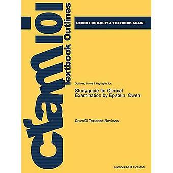 Studiegids voor klinisch onderzoek van Epstein Owen door Cram101 leerboek beoordelingen