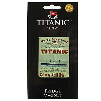 Titanic Kolekcjonerzy zwracają żeglarstwo metalowe lodówka magnes (sg)