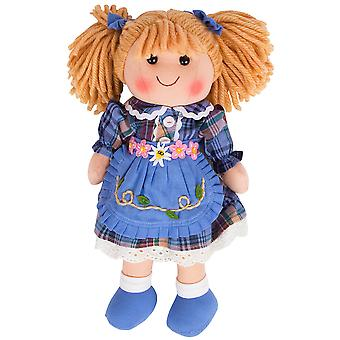 Bigjigs Toys Soft Plush Katie (34cm) Rag Doll Cuddly Toy