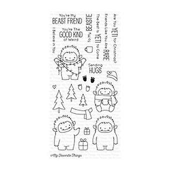 My Favorite Things Beast Friends Clear Stamps (BB-39)