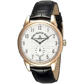 Zeno-watch mens watch vintage line manual winding 4287-PGR-f2