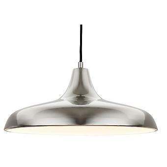 Firstlight-1 plafonnier léger pendentif en acier brossé-4854BS