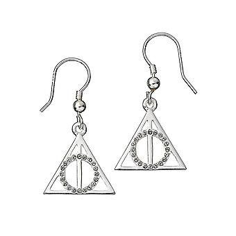 Harry Potter Swarovski Crystals Deathly Hallows Ohrringe