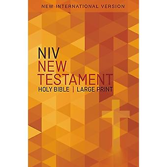 NIV Outreach New Testament - Large Print [Blue Wheat] by Zondervan -